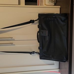 Tumi Black Garmet bag tri-fold carry on